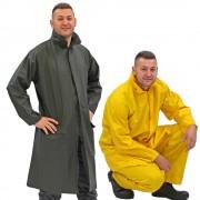Regenschutzjacken, Regenschutzhosen und Regenschutzmäntel