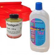 Reinigung/Pflege und Reparatur von Blachen
