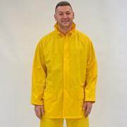 Regenschutzjacke gelb (wasserdicht)