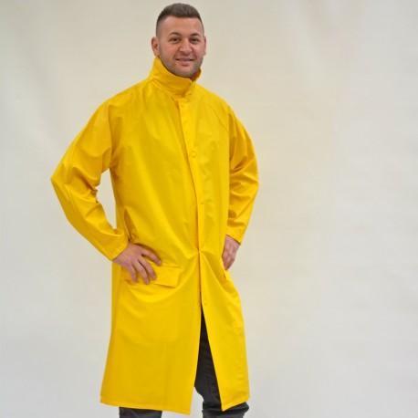 Regenschutzmantel gelb (wasserdicht)