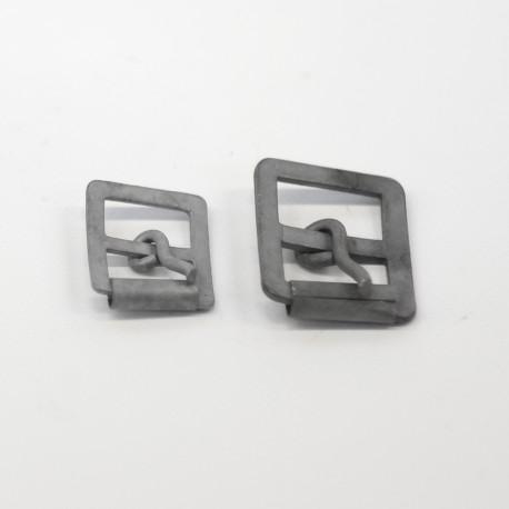 Doppel-Rollschnalle 20 oder 25 mm