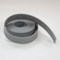 Blachenband 2/25 mm grau - gelocht