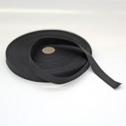 Polyester-Dochtband weiss oder schwarz