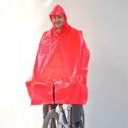 Radfahrer-Regenschutz mit Lampenschlitz (505 Sch)