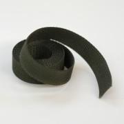 Gurtband 25 mm breit - Farbe: olive