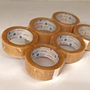 Klebeband-Rollen transparent (Packung à 6 Stk.)