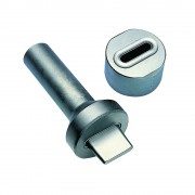 Einschlagstempel für Rechteck-Schlitzösen 38 x 8 mm